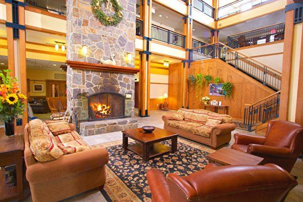 Mount Snow的Grand Summit Hotel。(Mount Snow提供)