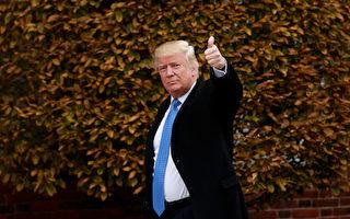 針對金正恩1日的導彈威脅言論,美國總統當選人川普(特朗普)2日發推文說,朝鮮是不會研發出打擊美國的核武器的,並譏諷中共在朝鮮問題上「幫不上忙」。(Drew Angerer/Getty Images)