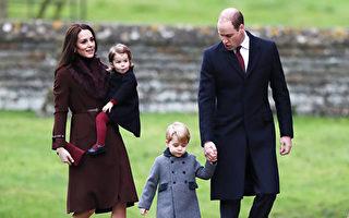 威廉王子全家在凯特的娘家度过了一个轻松的圣诞节。(Photo by Andrew Matthews - WPA Pool/Getty Images)