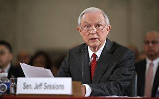 美國參議院10日起將舉行一系列聽證會,確認候選總統川普(特朗普)對內閣人選的提名。首先接受質詢的是司法部長提名人塞申斯(Jeff Sessions)受到了一番嚴厲的拷問。 (Chip Somodevilla/Getty Images)