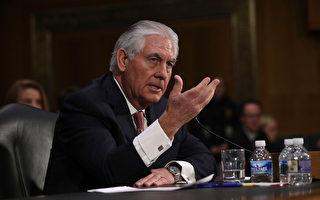 美國國務院一位高級官員週五(3月24日)表示,國務卿蒂勒森下週將會前往布魯塞爾參加3月31日舉行的北約峰會。 (Alex Wong/Getty Images)