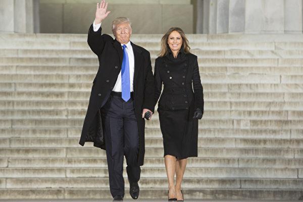 川普一家赴華府 承諾「會讓美國更偉大」