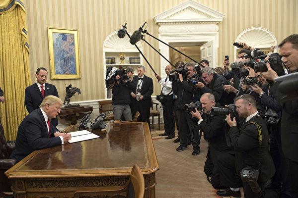 川普入主白宫 新政五大要点一次看懂