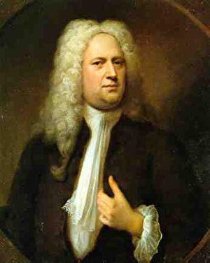 亨德尔。Balthasar Denner作品。(维基百科)