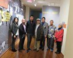 """华美博物馆""""根源:美国亚裔在洛杉矶政治运动1968-1980年代史料展""""自1月19日开始展出。(袁玫/大纪元)"""