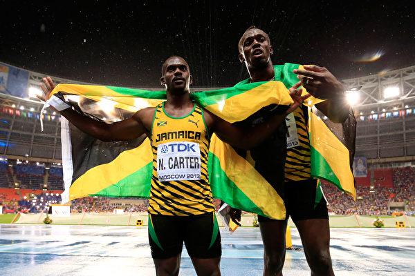 牙買加「飛人」博爾特交還一枚奧運會金牌