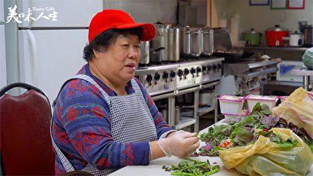 陳媽媽做月子餐 陳林香女士(新唐人提供)