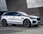 2016年夏季刚刚面世的Jaguar SUV,F-Pace引爆买气,让捷豹销量倍增。 (Jaguar)图片由旧金山湾区陆虎捷豹车行Cole European Jaguar提供。