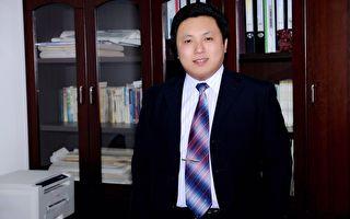 北京人權律師陳建剛資料照。(大紀元)