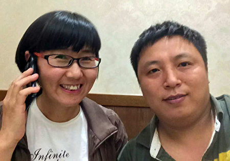 陈建刚律师(右)与王宇律师合影。(大纪元) 陈建刚律师(右)与709事件中被抓捕的王宇律师昔日合照。(大纪元)