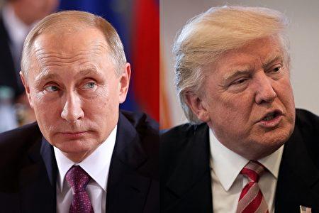 克里姆林宫在周四(1月12日)向川普发出友好信息,希望他上任后能够与普京友好相处,和平对话。(Getty Images/大纪元合成)