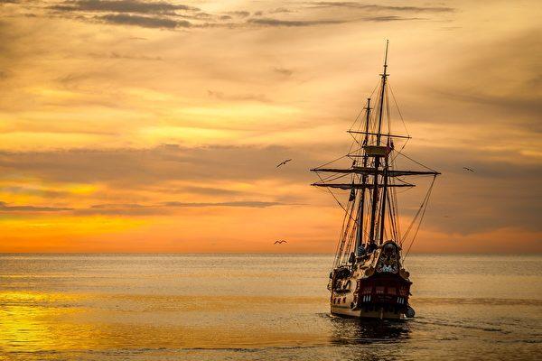 如同空中的飞机或渡海的船只,顺风顺水总是比逆流而动来得轻松。(pixabay)