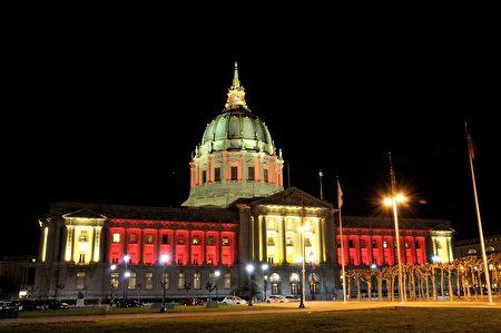旧金山市政厅。(大纪元资料图片)