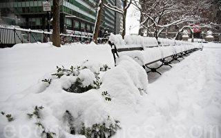 暴风雪来袭 纽约市公校9日全面停课