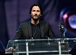基努‧李维出席活动资料照。 (Alberto E. Rodriguez/Getty Images for CinemaCon)