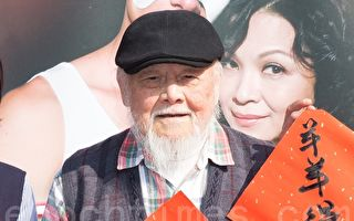 资深台语演员高鸣因为久病厌世,惊传轻声。图为他出席活动资料照。(陈柏州/大纪元)
