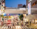 日本房地產情報網站「HOME'S」發表了在東京圈買房和租房的人氣街區排行榜。其中千葉縣的船橋名列買房的榜首。圖為船橋車站。(遊沛然/大紀元)
