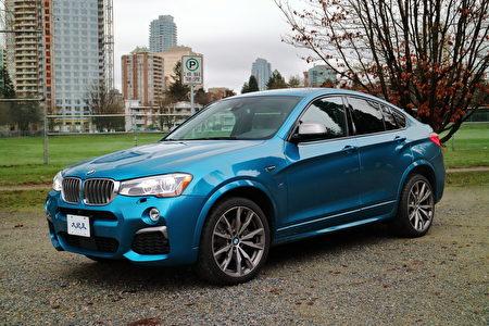 2017 BMW X4 M40i。〈李奥/大纪元〉