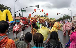 """2017年元宵节(2月11日),洛杉矶阿罕布拉市举办第26届""""四海迎春""""中国新年庆祝活动。(刘菲/大纪元)"""
