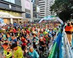 2017渣打马拉松在港举行。(宋祥龙/大纪元)