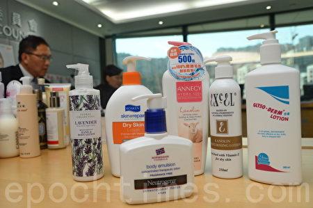 消委会:逾半身体润肤乳液标示含可致敏成分