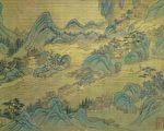 鎮江是長江下游地區的重要的港口城市,圖為清朝王翬《長江萬里圖》,現藏台北故宮博物院。(公有領域)