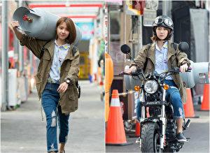 邵雨薇在华剧《极品绝配》中饰演一位在夜市中长大的女孩,图为剧照。(三立/大纪元合成)