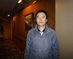 教堂樂隊指揮兼歌唱家Jaihong Joo觀看演出後驚歎道: 「在這兩個小時中,我感覺自己進入了一個令人難以置信的天國世界!」(李辰/大紀元)