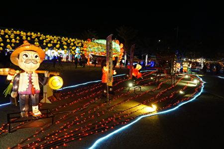 「著年」是詔安客家八大社傳統的宗教民俗活動。(廖素貞/大紀元)