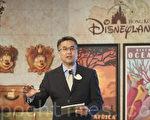 香港迪士尼行政总裁刘永基表示,去年下半年起业务跌势放缓,而今年黄历新年期间入场人数上升13%,但强调乐园业务仍受挑战。(余钢/大纪元)