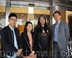 罗冠聪、刘小丽、姚松炎就宣誓司法复核案申请法援被拒,3人早前提出上诉,昨日被高等法院驳回。(蔡雯文/大纪元)