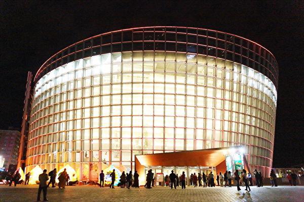 2017年2月21日晚,桃园展演中心。(林仕杰/大纪元)