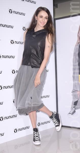 瑞莎 & 混血小童星伊萊(池東澤)時尚童裝NUNUNU台北快閃店開幕
