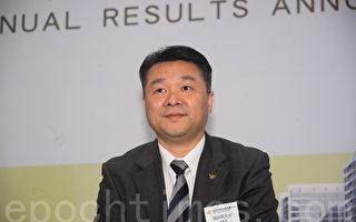 越秀地产董事长张招兴表示,公司今年合作销售目标330亿元,较2016年303亿元销售额升约一成,其中广州将贡献55%。(宋祥龙/大纪元)