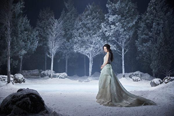 田馥甄拍摄《美女与野兽》真人版电影歌曲MV。(迪士尼提供)
