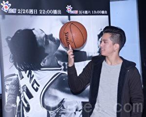 公视人生剧展《一瞬之光》于2017年2月24日在台北举行媒体茶叙记者会。图为黄远。(黄宗茂/大纪元)