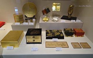 金箔和金箔漆器(王知涵/大紀元)
