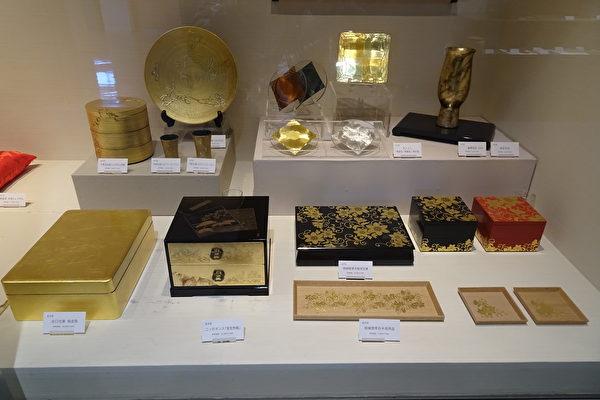 金箔和金箔漆器(王知涵/大纪元)
