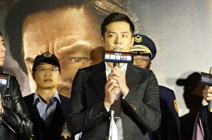姚元浩出席電影活動,他坦言小時候的夢想就是當警察為民服務,現在也想挑戰演警察圓夢。(甲上提供)