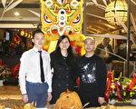 """""""潮""""餐厅(Trend Pure Asian Cuisine)的三位股东,(左起)Lucas Li、Liann Chan和Pei Zhen(Tony)。(廖述祥/大纪元)"""