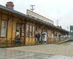 翻新的Lankershim Depot車站保留了原貌。(楊陽/大紀元)