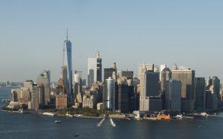 曼哈頓的豪宅買家,有20%來自中國和俄羅斯。 (SAUL LOEB/AFP/Getty Images)