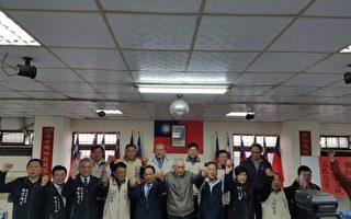 選國民黨主席吳敦義為連署門檻開始衝刺。(林寶雲/大紀元)