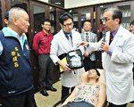 黄伟春医师返乡义务推广心脏治疗。(苗县府/提供)