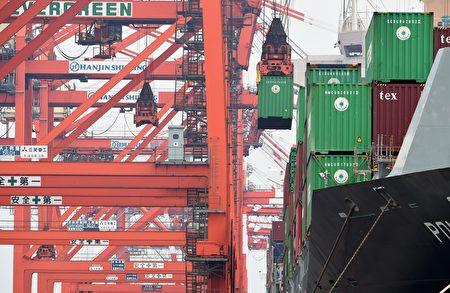 台经院表示,我国出口已连续3、4个月呈现两位数的成长。(AFP)