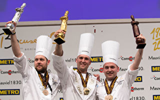 第15屆博古斯世界烹飪大賽 美國廚師摘冠