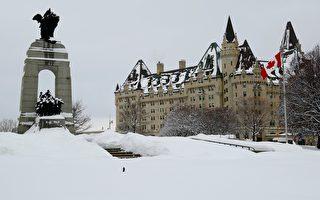 组图:渥太华雪景 冬日的乐趣