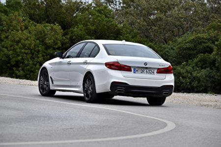 宝马540i外观(BMW提供)