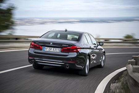 宝马530d外观(BMW提供)