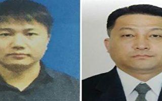 高麗航空公司職員金玉日(左)和朝鮮駐吉隆坡大使館二等秘書玄光成列為嫌疑人(右),被馬來西亞警方列為嫌疑人。(AFP)